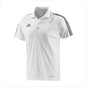 Afbeelding POLO Adidas wit HR