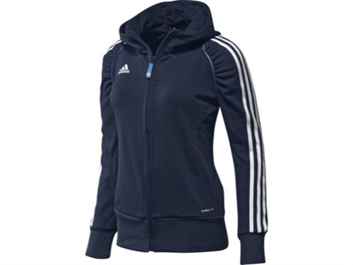 Afbeelding HOODED VEST Adidas navy DS