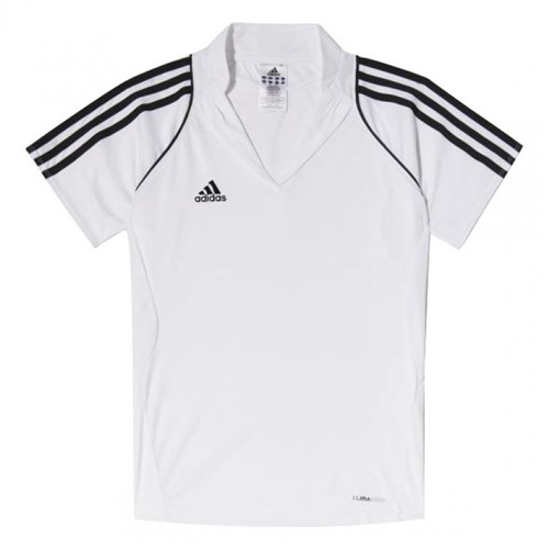 Afbeelding POLO Adidas wit DS