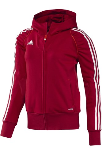Afbeelding HOODED VEST Adidas rood DS