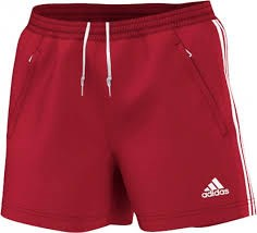Afbeelding SHORT Adidas rood DS