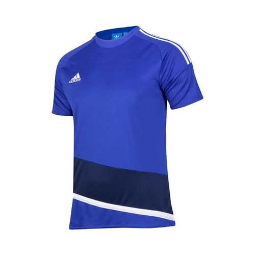 Afbeelding T-SHIRT Adidas blue/white