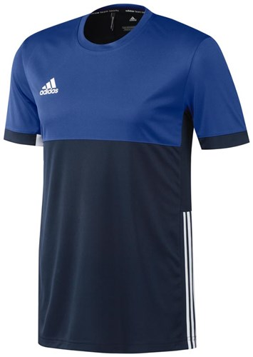 Afbeelding T-SHIRT KM Adidas navy/royal HR