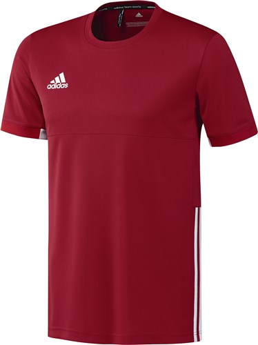 Afbeelding T-SHIRT KM Adidas rood HR