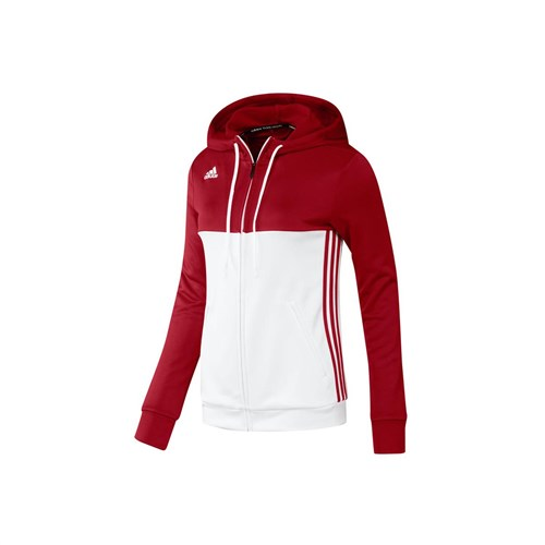 Afbeelding HOODED VEST Adidas rood DAMES