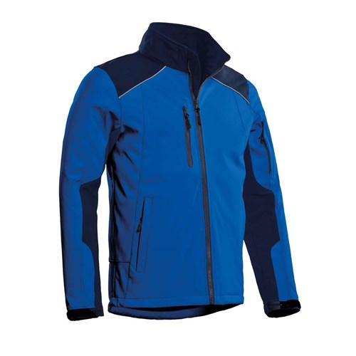 Afbeelding JACK Softshell Santino royal blue/real navy HEREN